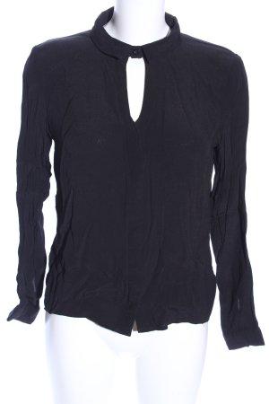 Minkpink Transparenz-Bluse schwarz Casual-Look