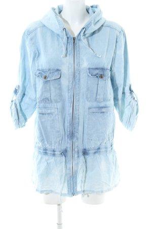 Minkpink Übergangsjacke blau Casual-Look