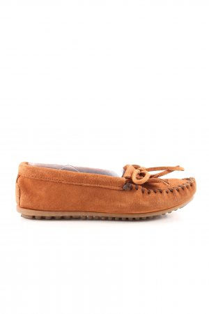 Minnetonka Mokassins hellorange Casual-Look