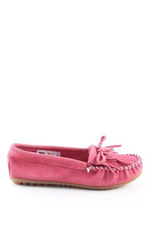 Minnetonka Schlüpfschuhe pink Casual-Look