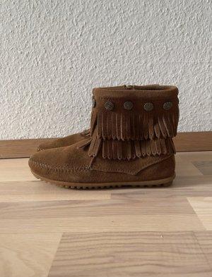 Minnetonka Ankle Boots brown-ocher