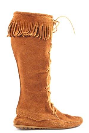 Minnetonka Stivale western marrone stile casual