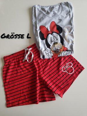 Disney Muscle Shirt grey-red