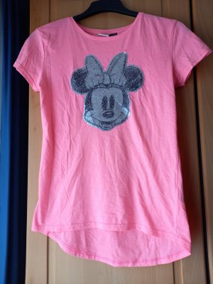 Disney T-Shirt neon pink