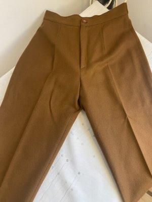 Minority Pantalón de lana coñac