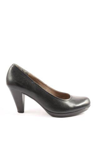 Minozzi Milano High Heels schwarz Casual-Look