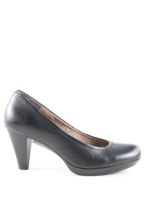 Minozzi Milano High Heels schwarz Business-Look