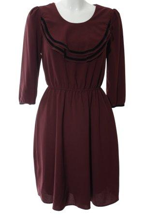 Mint&berry A-Linien Kleid braun Casual-Look