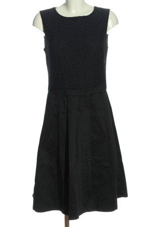 Mint&berry Vestido línea A negro estilo «business»