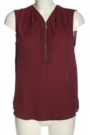 Mint&berry ärmellose Bluse rot Casual-Look