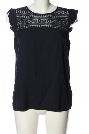 Mint&berry Blusa sin mangas azul look casual