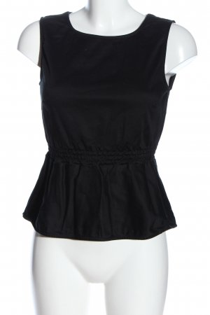Mint&berry Blusa sin mangas negro look casual