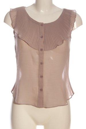 Mint&berry ärmellose Bluse braun Casual-Look