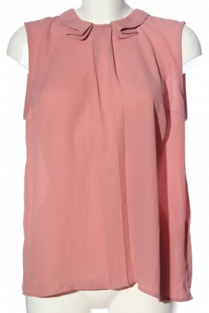 Mint&berry Blusa sin mangas rosa look casual