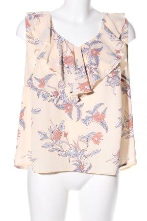 Mint&berry ärmellose Bluse Blumenmuster Casual-Look