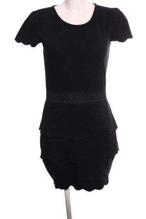 Mint&berry Ballonjurk zwart casual uitstraling