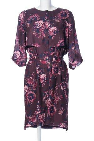 Mint&berry Blusenkleid Blumenmuster Casual-Look