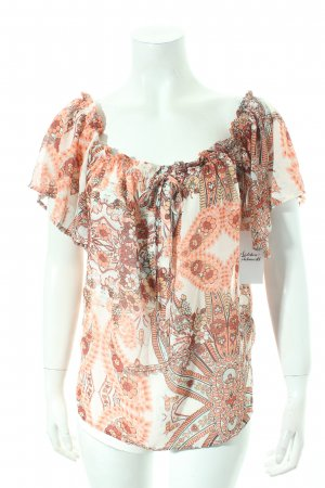 Mint&berry Blouse topje abstract patroon simpele stijl