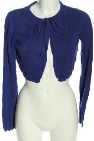 Mint&berry Bolero blau Casual-Look