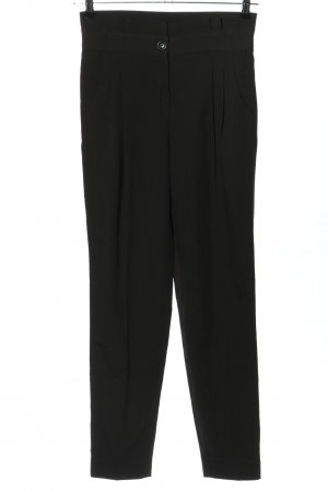 Mint&berry Pleated Trousers black casual look