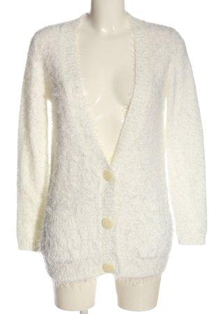 Mint&berry Kardigan biały W stylu casual