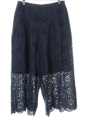 Mint&berry Culottes dunkelblau schlichter Stil