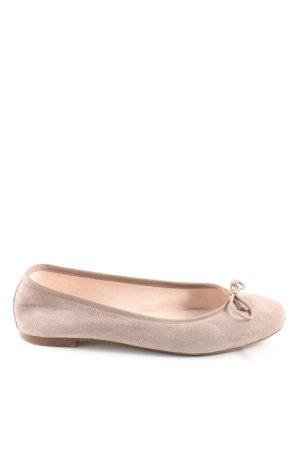 Mint&berry faltbare Ballerinas nude Casual-Look