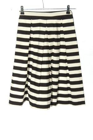 Mint&berry Falda a cuadros blanco-negro look casual