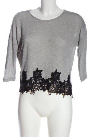 Mint&berry  grigio chiaro-nero puntinato stile casual