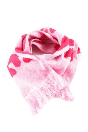 Mint&berry Fransenschal pink-rot Casual-Look