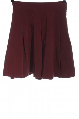 Mint&berry Flared Skirt red casual look