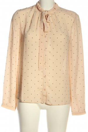 Mint&berry Hemd-Bluse nude-braun Allover-Druck Business-Look