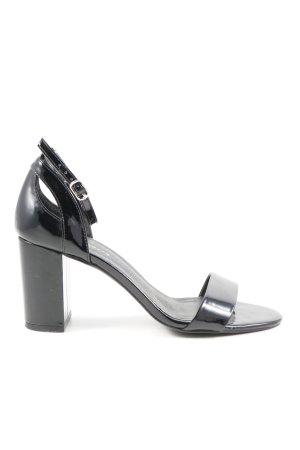 Mint&berry High Heel Sandaletten schwarz Casual-Look