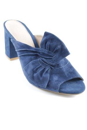 Mint&berry High Heel Sandaletten dunkelblau Elegant