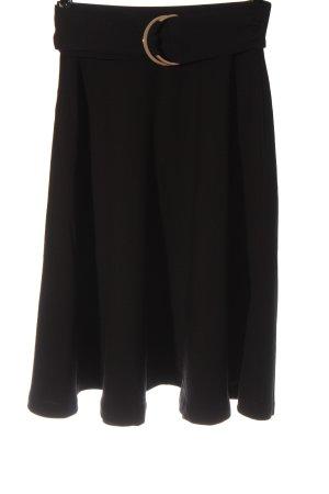 Mint&berry High Waist Skirt black elegant