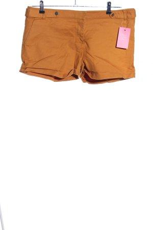 Mint&berry High-Waist-Shorts hellorange Casual-Look
