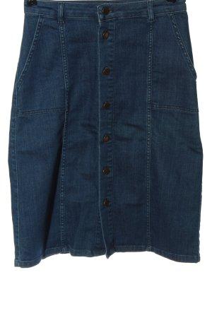Mint&berry Jeansowa spódnica niebieski W stylu casual