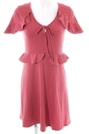 Mint&berry Robe en jersey rouge foncé style décontracté