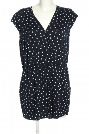 Mint&berry Jumpsuit black-white allover print casual look