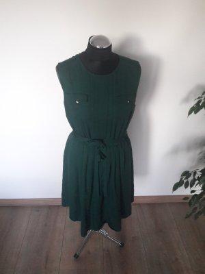 mint&berry kleid gr. 40 dunkelgrün