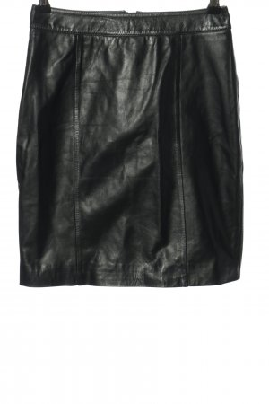 Mint&berry Gonna in pelle nero stile casual