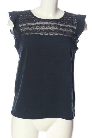 Mint&berry Blouse à manches courtes gris clair style décontracté