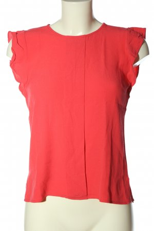 Mint&berry Kurzarm-Bluse rot Business-Look