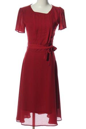 Mint&berry Kurzarmkleid rot Elegant
