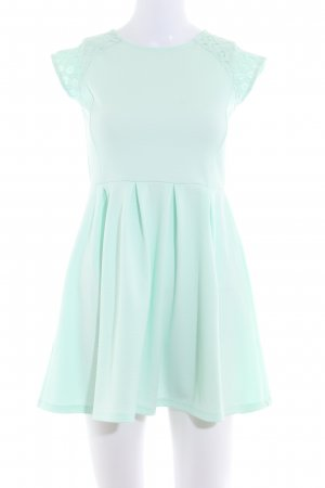 Mint&berry Kurzarmkleid mint Romantik-Look