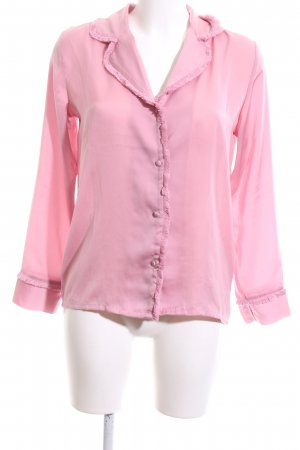 Mint&berry Langarm-Bluse pink Casual-Look