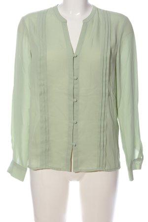 Mint&berry Langarm-Bluse grün Business-Look