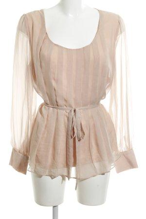 Mint&berry Langarm-Bluse nude Elegant