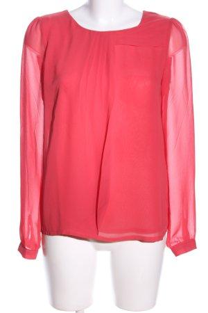 Mint&berry Langarm-Bluse rot Elegant