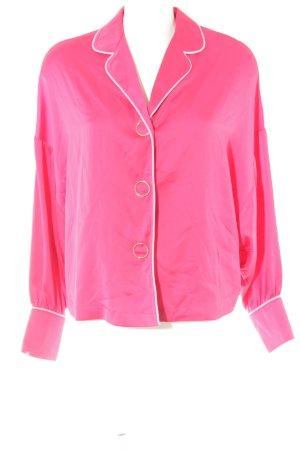 Mint&berry Langarm-Bluse magenta-rosa extravaganter Stil